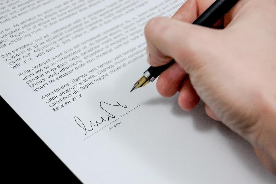 vaststellingsovereenkomst