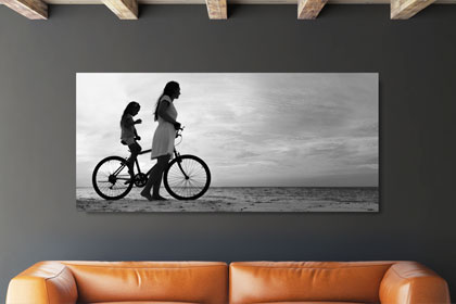 foto's op canvassen